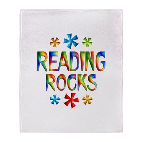 Reading Throw Blanket