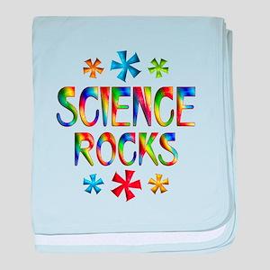Science baby blanket