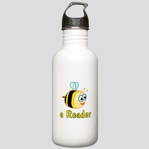 Book Reading Stainless Water Bottle 1.0L