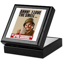 Love Dead Terrorists Keepsake Box