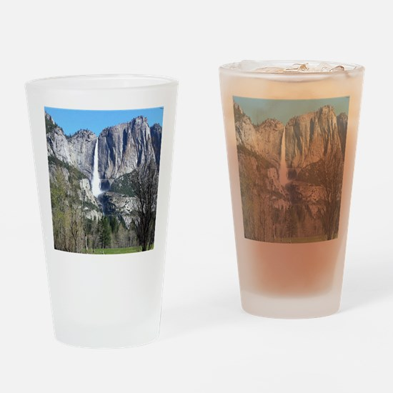 Yosemite Falls Drinking Glass