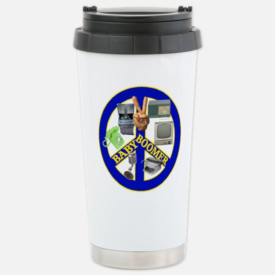 Baby Boomers Stainless Steel Travel Mug