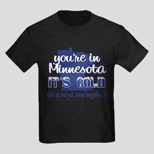 Minnesota Shut Up Kids Dark T-Shirt