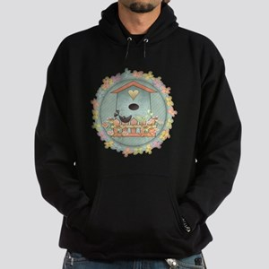 Country Blue Birdhouse Hoodie (dark)