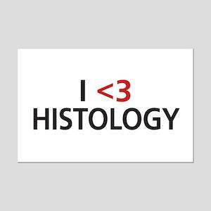 I <3 Histology Mini Poster Print