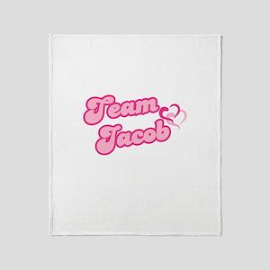 Team Jacob Black Throw Blanket