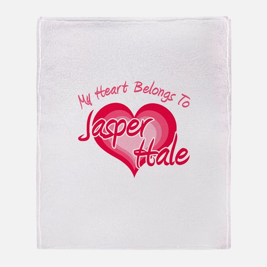 Heart Jasper Hale Throw Blanket