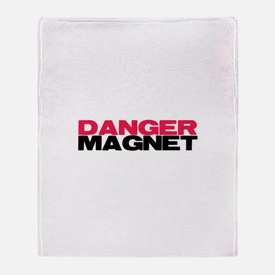 Danger Magnet Twilight Throw Blanket