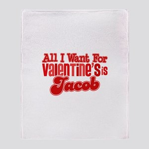Jacob Valentine Throw Blanket