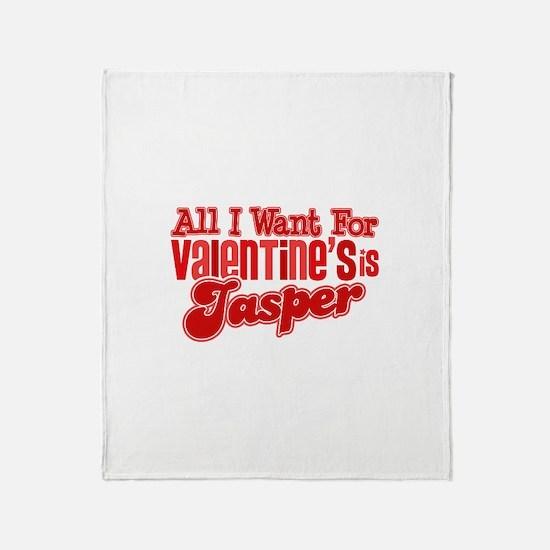 Jasper Valentine Throw Blanket