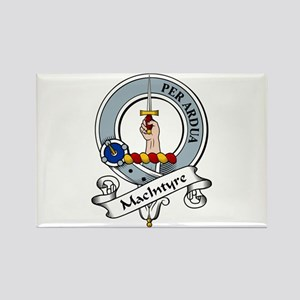 MacIntyre Clan Badge Rectangle Magnet (10 pack)