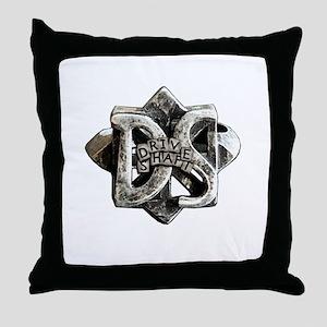 Drive Shaft Throw Pillow