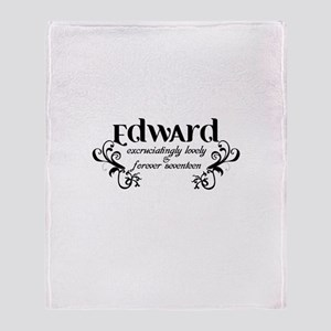 Twilight Edward Lovely Throw Blanket