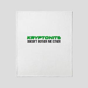 Edward Kryptonite Throw Blanket