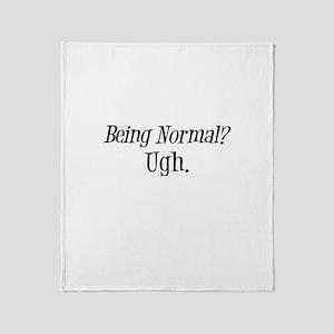 Normal Ugh Twilight Throw Blanket
