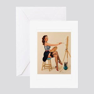 Painter Greeting Cards