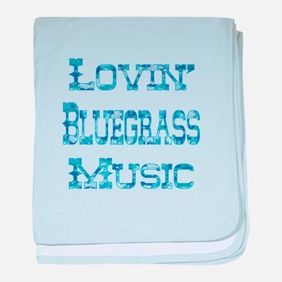 Bluegrass baby blanket