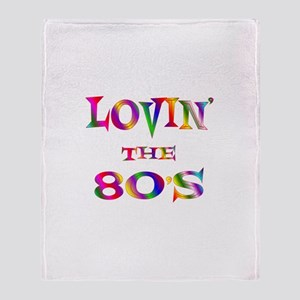 80's Throw Blanket