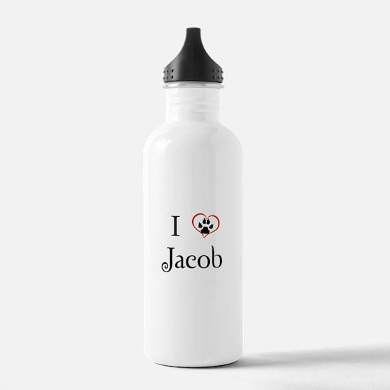 Love Jacob Twilight Water Bottle