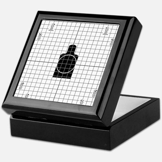 M16 Zero Target Keepsake Box