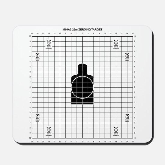 M16 Zero Target Mousepad