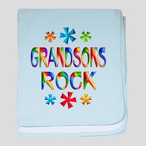 Grandson baby blanket