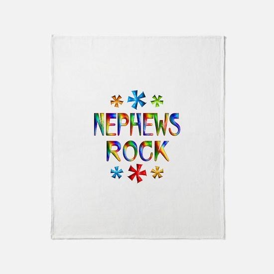 Nephew Throw Blanket