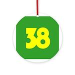 38 Ornament (Round)