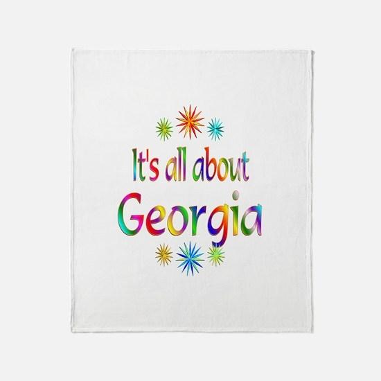 Georgia Throw Blanket