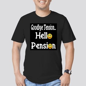 Retirement Pension Men's Fitted T-Shirt (dark)
