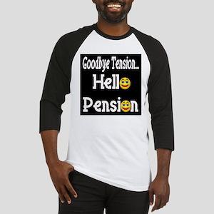 Retirement Pension Baseball Jersey