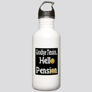 Retirement Pension Stainless Water Bottle 1.0L
