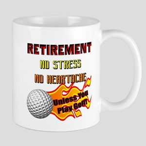 Retirement No Stress Mug