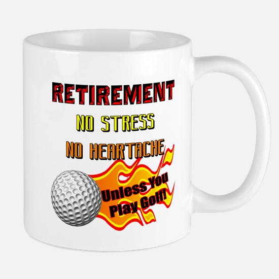 Retirement No Stress Mug