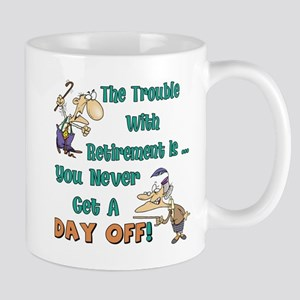 Retirement Days Mug