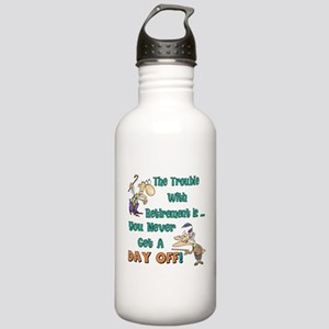 Retirement Days Stainless Water Bottle 1.0L