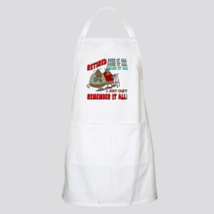 Retirement Memory Apron