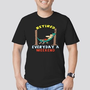 Retirement Days Men's Fitted T-Shirt (dark)