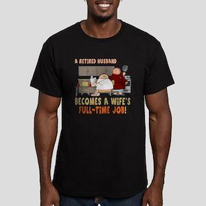 Retired Husband Men's Fitted T-Shirt (dark)