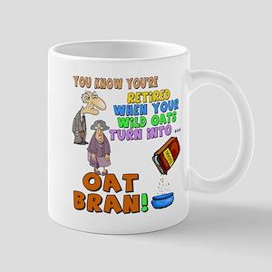 Retirement Oat Bran Mug