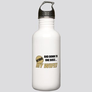 Retired With One Boss Stainless Water Bottle 1.0L