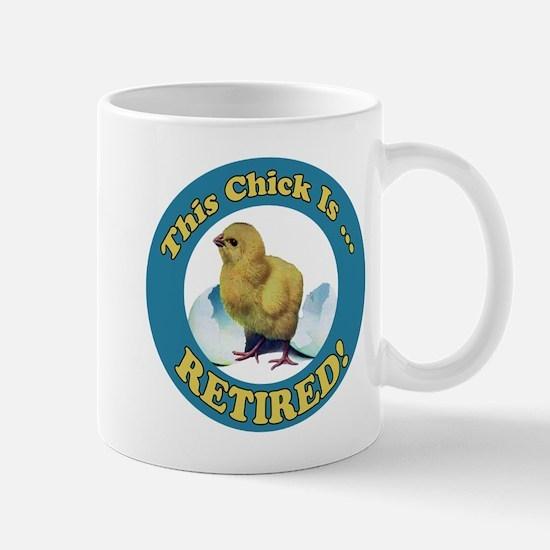 Retired Chick Mug