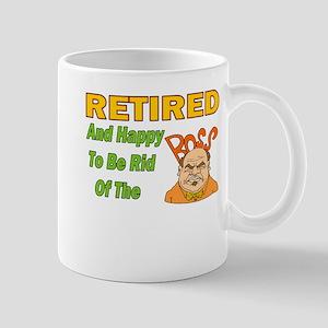 Retired With No Boss Mug