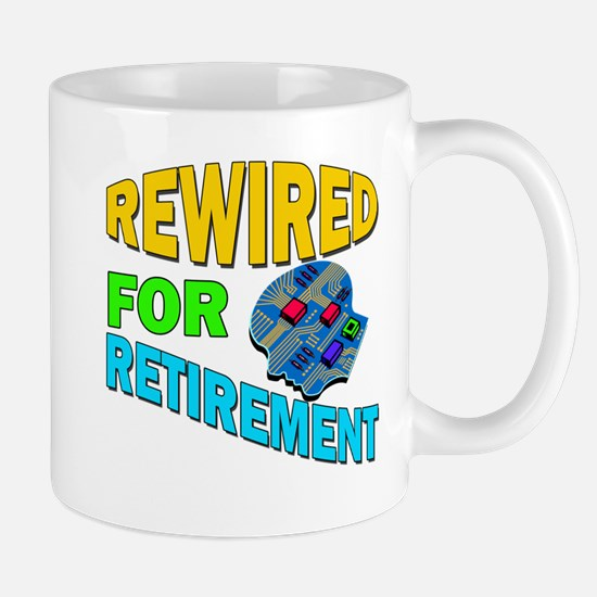 Rewired For Retirement Mug