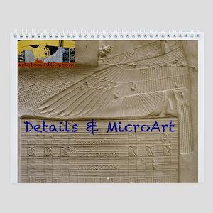 Egyptian Details--Wall Calendar