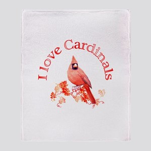 Cardinal Throw Blanket