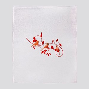 Cardinals Throw Blanket