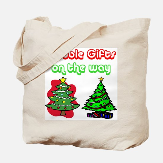 Unique Christmas pregnancy Tote Bag