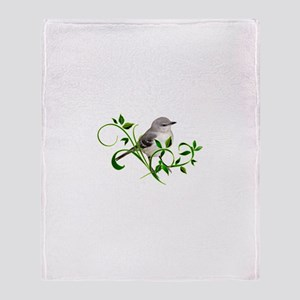 MOCKINGBIRD Throw Blanket