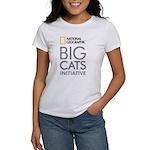 Big Cats Initiative Women's White T-Shirt